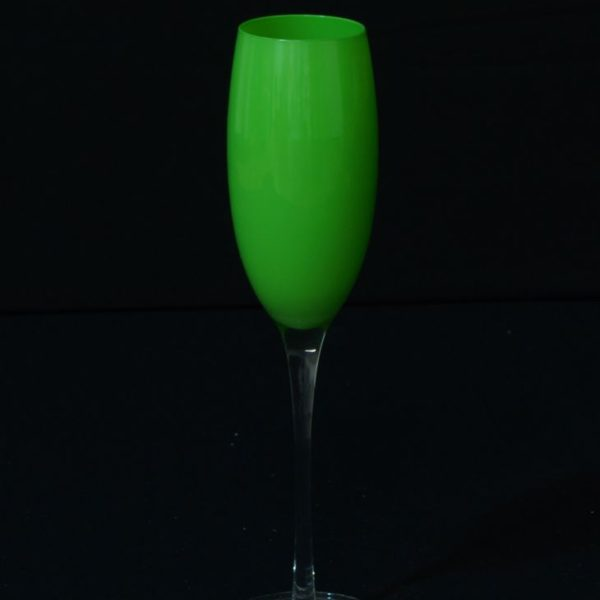 Coloured Champagne Glasses