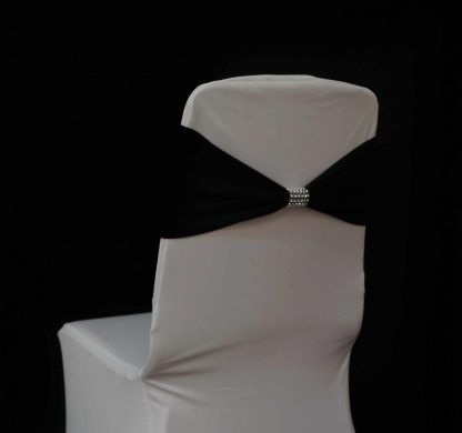 Diamante buckle chair bands