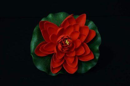 Floating Lotus flowers - Red