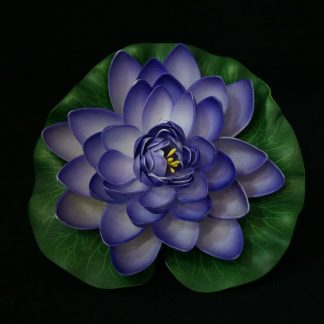 Floating Lotus flowers - Purple
