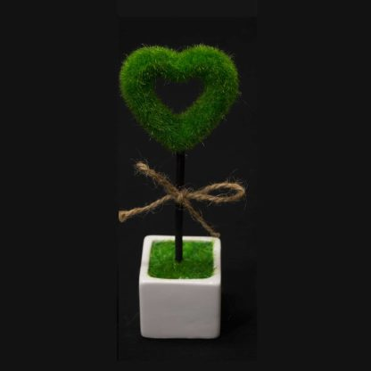 love heart topiary hedge