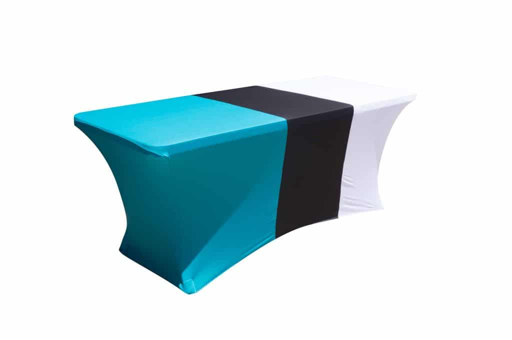 Spandex Trestle Table Cover Multi Colour Show Your True