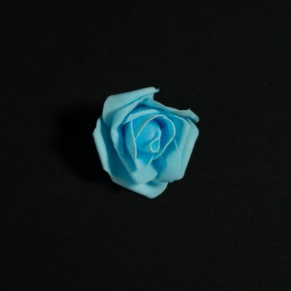 Blue Foam Rose Heads
