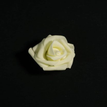 White Foam Rose Heads