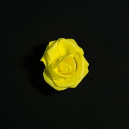 Yellow Foam Rose Heads