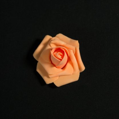 Peach Foam Rose Heads