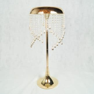 Gold Tear Drop Centrepiece