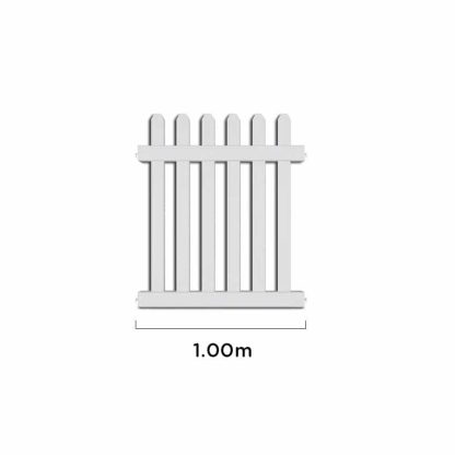 Event Picket Fencing Post - Small Panel