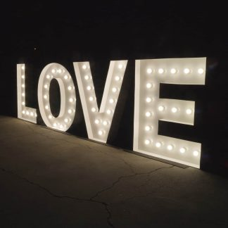 Marquee Love Light Up Letters
