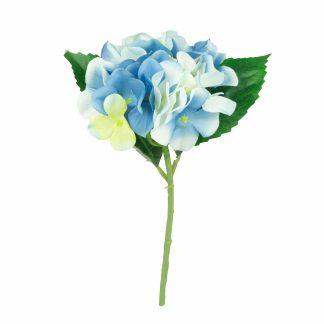 Artificial Hydrangeas Single - Blue