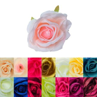 8.5cm Artificial Rose Heads