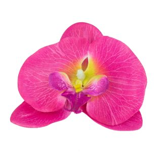 Artificial Orchid Flower Heads Bottom - Artificial Orchid Flowers Heads Top - Bright Pink
