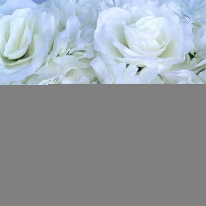Rose, Hydrangea, Dahlia Flower Wall Panels- FW037 White