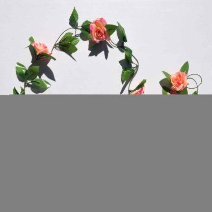 Rose Garland - Peach