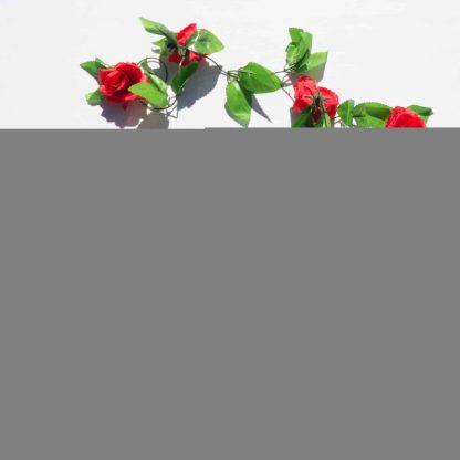 Rose Garland - Red