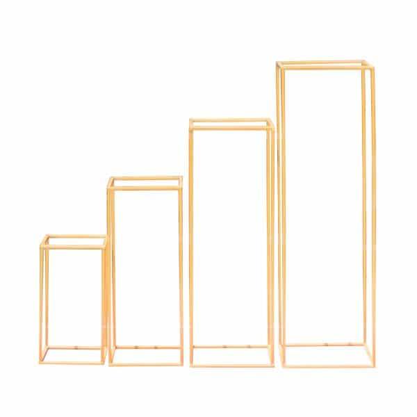 Cuboid Prop Set - White 4 Piece