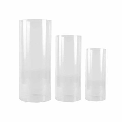 Acrylic Cylinder Plinth