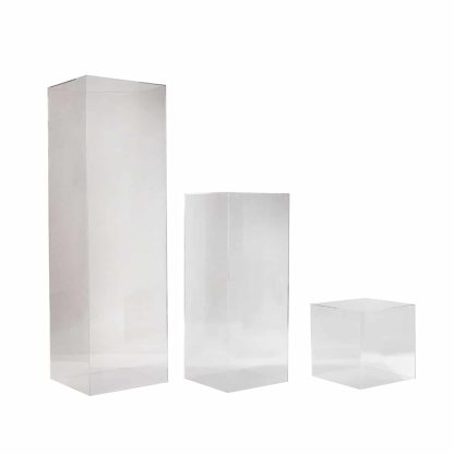 Acrylic Square Plinth