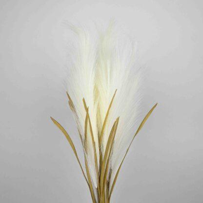 Artificial Pampas Grass - White