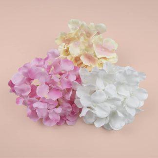 15cm Artificial Hydrangea Flower Heads