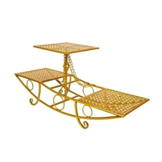 Three Tier Boat Cake Stand ST002