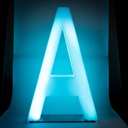 Light Up Letters - A