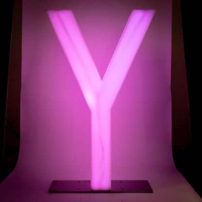 Light Up Letters - Y