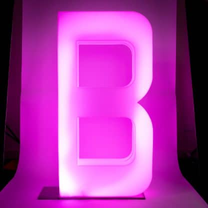 Light Up Letters - B