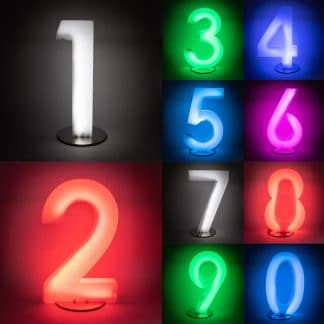 Light Up Numbers - Menu