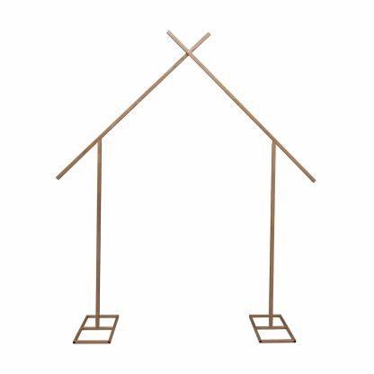 Metal Arch - Cross Gold