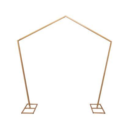 Metal Arch - Pentagon Gold