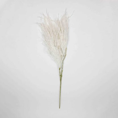 Artificial Seeded Pampas - White