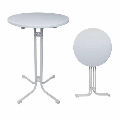 Folding Bar Table 70cm - HDPE