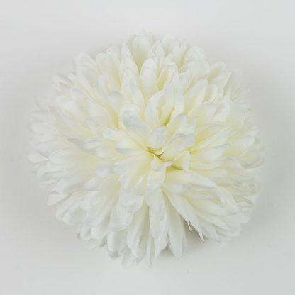 Chrysanthemum Flower Heads Ivory FHD117